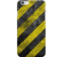 Warning Stripes iPhone Case/Skin