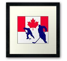Ice Hockey Framed Print