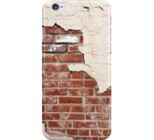 Grunge Plaster Brick Wall iPhone Case/Skin