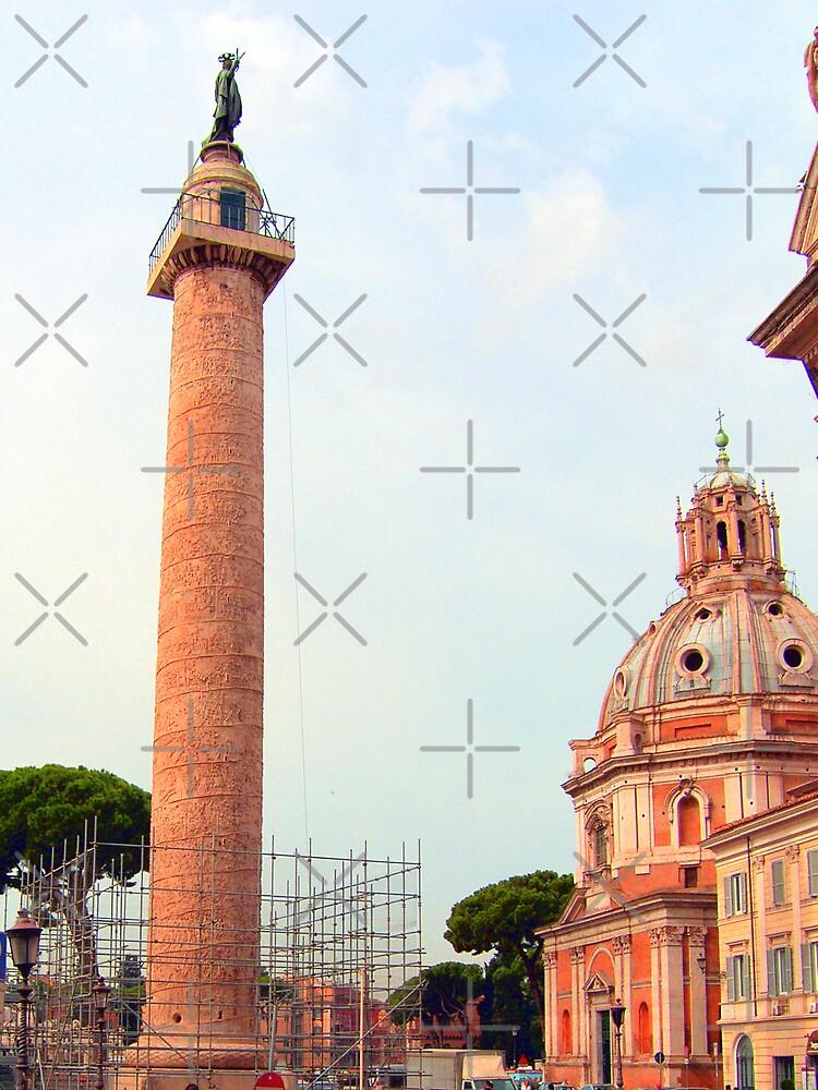 Trajan's Column by Tom Gomez