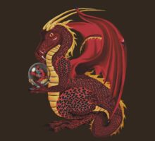 Red Fortune Dragon T-Shirt