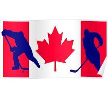 Canada Ice hockey Poster