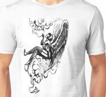 smoking angel Unisex T-Shirt