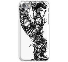 demon slayer angel iPhone Case/Skin