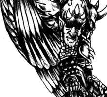 demon slayer angel Sticker