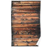 Grunge Wood Panels Poster