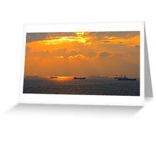 Sea of Marmara Greeting Card