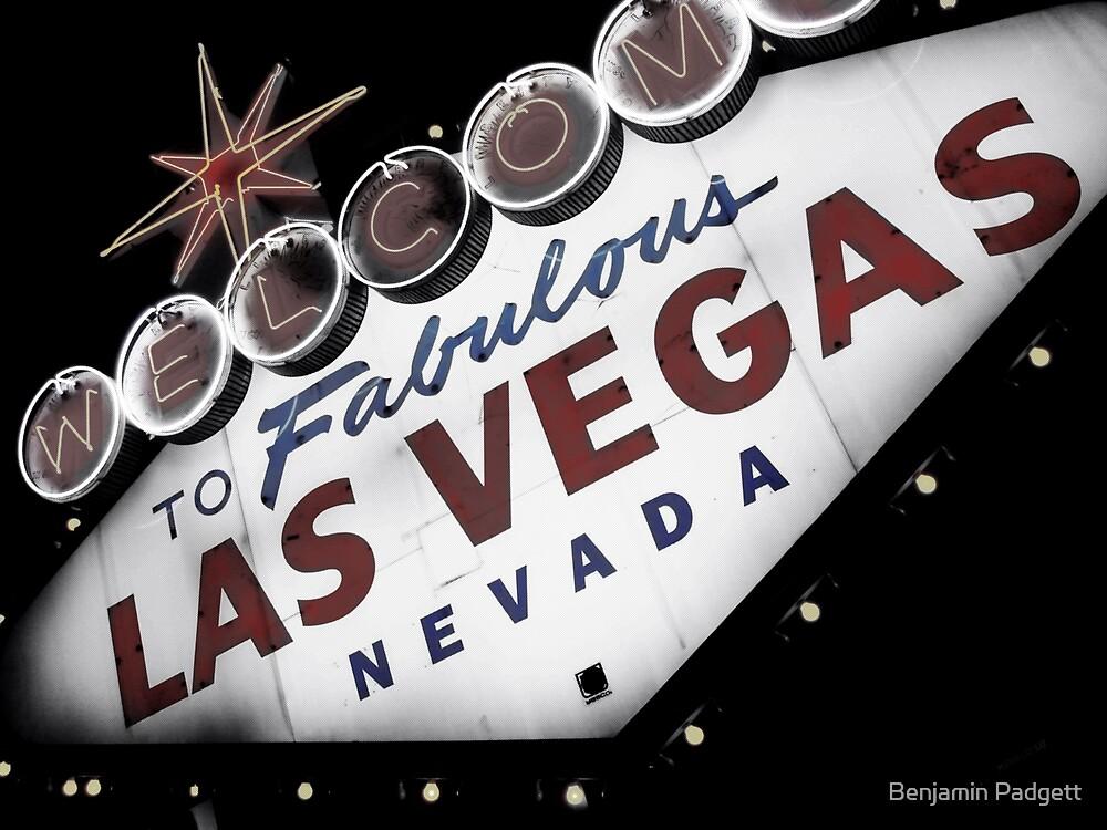 Vegas Sign No. 1 by Benjamin Padgett