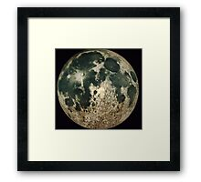 GREATER CRATER Framed Print