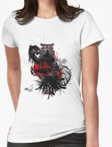 INNER DEMONS Womens Fitted T-Shirt