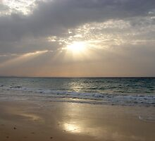 Daybreak On The Beach by ScarlettRose