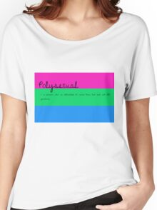 Polysexual Women's Relaxed Fit T-Shirt