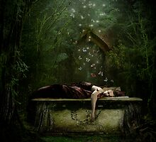 Sleeps With Butterflies by Angie Latham