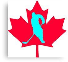 Ice Hockey Canvas Print