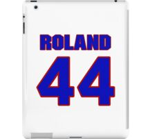 National baseball player Jim Roland jersey 44 iPad Case/Skin