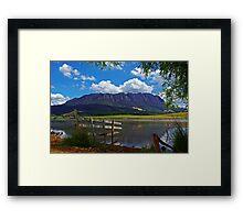 Mount Roland Framed Print