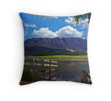 Mount Roland Throw Pillow