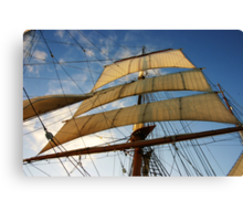 Sunlit Sails Canvas Print