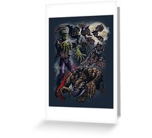 MONSTER CYCLE Greeting Card