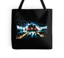 Back to the Future-Time travel Tote Bag