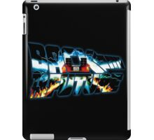 Back to the Future-Time travel iPad Case/Skin
