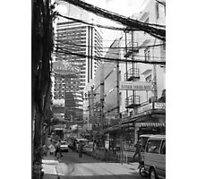 Overloaded Thailand Streetscape Photographic Print