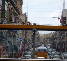 Maltese Street through the eyes of a bus! by seelisk