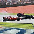 Massa & Coulthard Crash 2008 Australian GP by puppymike