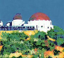Griffith Observatory Los Angeles California by RDRiccoboni
