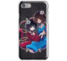 Mei & Fujioka (Green Eye edit.) iPhone Case/Skin