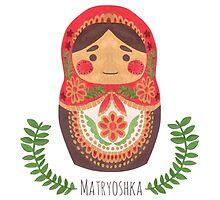 Matryoshka Doll by haidishabrina