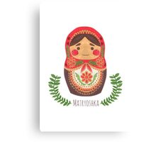 Matryoshka Doll Canvas Print