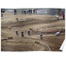 Mini's on the turn @ Loretta Lynn SW Area Qualifier Competitive Edge MX - Hesperia, CA, (353 Views as of May 9, 2011) Poster