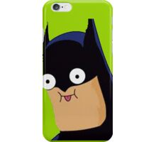 batman funny iPhone Case/Skin