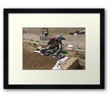 Loretta Lynn's SW Area Qualifer - Rider Number 36 Competitive Edge MX Hesperia, CA, (234 Views as of May 9, 2011) Framed Print
