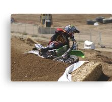 Loretta Lynn's SW Area Qualifer - Rider Number 36 Competitive Edge MX Hesperia, CA, (234 Views as of May 9, 2011) Canvas Print