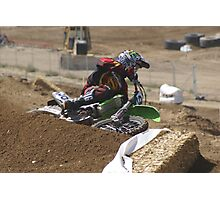 Loretta Lynn's SW Area Qualifer - Rider Number 36 Competitive Edge MX Hesperia, CA, (234 Views as of May 9, 2011) Photographic Print
