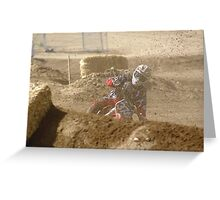 Loretta Lynn's SW Area; Rider # 374 Roost Competitive Edge MX - Hesperia, CA USA (126 Views 5-9-11) Greeting Card