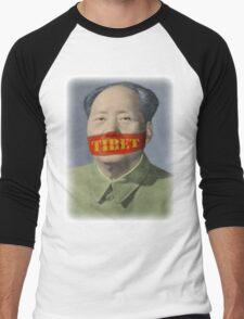 Do Not Speak Men's Baseball ¾ T-Shirt