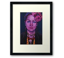 Fridalicious Framed Print