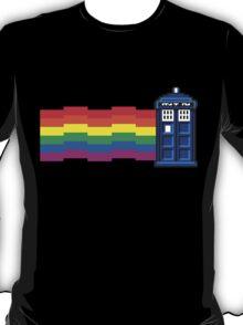 nyan tardis T-Shirt