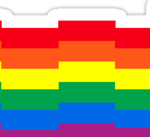 nyan tardis Sticker