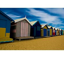 boat houses Photographic Print