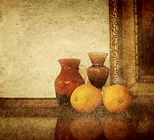 Grunched Oranges Still Life by Qnita
