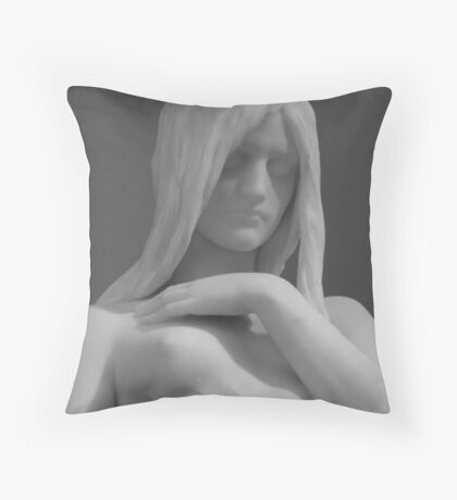 Beauty of Youth Throw Pillow