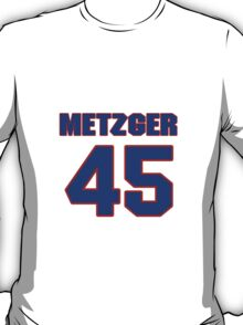National baseball player Butch Metzger jersey 45 T-Shirt