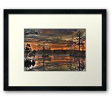 Poyners Creek Framed Print