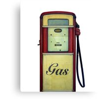 Classic Gas Pump Canvas Print