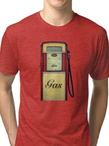 Classic Gas Pump Tri-blend T-Shirt