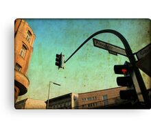 Alexandrinenstrasse  Canvas Print